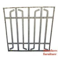 Antique Victorian Iron Gate Window Garden Fence Architectural Salvage Door #386