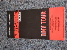Konzertticket ERASURE - Live Tiny Tour 1996 Ticket Konzertkarte - Depeche Mode
