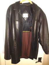 Remy Button Down Soft Leather Jacket, Men's Size 42