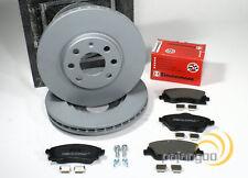 4 pastillas de freno Opel Combo meriva a 4 agujeros llanta delantera 260 mm 2 discos de freno