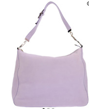 d14227ebaa2 Authentic Versace lilac leather shoulder bag hobo