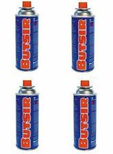 4 x Cartucho gas butano Butsir B-250 Pack ahorro
