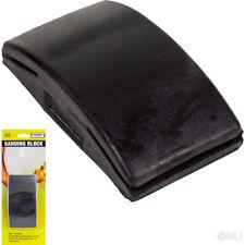 SANDING BLOCK FLAT HAND RUBBING/FLATTENING WET DRY SAND PAPER 12X6.5CM