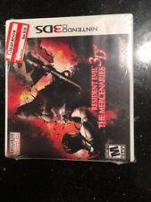 Resident Evil: The Mercenaries 3D - Nintendo 3DS Brand New Factory Sealed