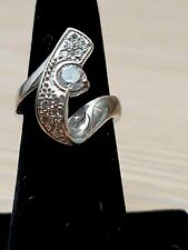Wave Swirl Fashion Ring Size 6 1/4 New listing