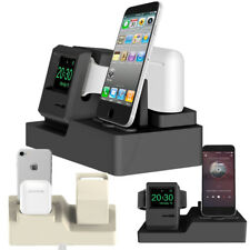 For Apple iPhone For iWatch For Airpods Charging Docks Station Stand Holder New