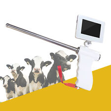 Visible Insemination Gun Machine Stainless Steel Probe Rod Kit for Cow Cattle Us