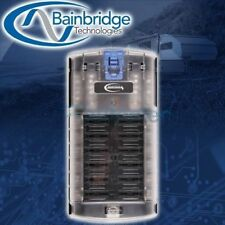 Baintech FUSE BLOCK BTFB12R 12-Blade, Common Negative & Positive, Clear Cover