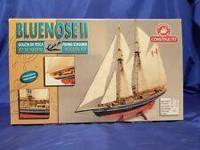 Constructo #80618 Bluenose II Fishing Schooner Wooden Kit 1/135 Open Complete