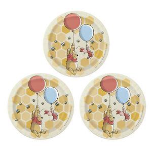 Winnie The Pooh 7 Inch Birthday Plate Set - 24 Plates