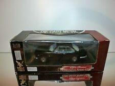 ROAD SIGNATURE ALFA ROMEO GIULIA SPRINT GTA 1965 - BLACK 1:18 - EXCELLENT IN BOX