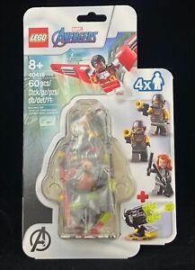 LEGO 40418 Marvel Avengers, Black Widow and Falcon, New Sealed! 4 Mini Figures!