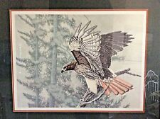 """SIGNED 29"""" x 35"""" LITHOGRAPH C. FORREST """"ARAPAHO CREEK REDTAIL"""" LTD. ED. 90/300"""