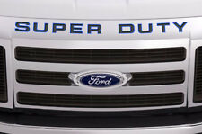 Super Duty Inserts Stickers Decals For Ford F250 F350 F450 2008-2016 BLUE OUTLN