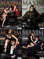 MAXIM SUPER JUNIOR EUNHYUK KANGIN KOREA ISSUE MAGAZINE RANDOM COVER 2015 MAY NEW