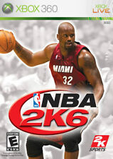 BRAND NEW - SEALED - NBA 2K6 2006 Microsoft Xbox 360 Live Video Basketball Game