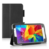 """Folding Smart Leather Stand Case for Samsung Galaxy Tab 4 7.0 7"""" Inch T230 T231"""