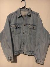 Vintage Bugle Boy Basics Oversized Denim Jacket Adjustable waist Size S