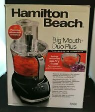 Hamilton Beach Big Mouth Duo Plus 12 Cup. Food Processor