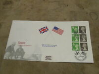 1998 First Day Cover-Regional Definitive pane/sheet- Speed records - Flags
