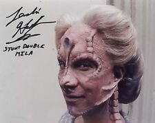 "Star Trek Deep Space 9 Autograph 8x10 Leslie Hoffman-Stunt Dbl ""Mila"" (Lhau-876)"