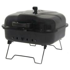 Portable Charcoal Grill Barbecue Steel Griller Backyard Outdoor Folding Legs