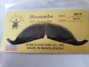 Moustache Human Hair Professional Rubies  #2012 Browns, Greys, Black, Blonde