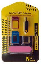 Universal Sim Karten Adapter Nadel Nano Micro Kartenleser SET für Handy Tablet