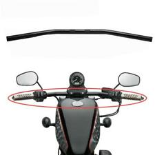 "Black 1"" Inch Drag Bars Handlebars For Honda VT Shadow Ace Classic 500 700 750"