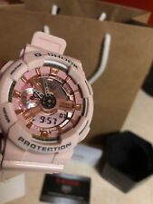 BRAND NEW CASIO G-SHOCK GMAS110MP-4A1 S-SERIES PINK/GOLD  WATCH