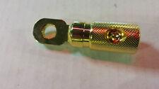 RINGÖSE 24 Karat voll vergoldet bis 10qmm 58mm lang, 8mm Loch Ring 16mm schwer!