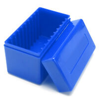 10-Coin Slabs Capacity Holder Slab Blue Storage Box Case Plastic For PCGS NGC 1x