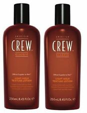 American Crew Light Hold Texture Lotion 250ml Duo Pack