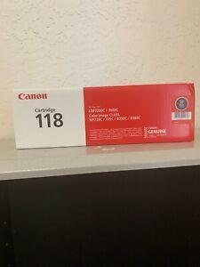 OEM RETAIL Canon 118 Toner Cartridge Black 2662B001