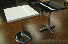 """Restaurant Table Tops Cultured Marble 32"""" x 32"""" Inside & Outside Made In Usa"""