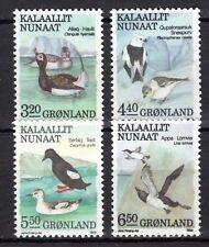 Denmark / Greenland - 1989 Birds - Mi. 191-94 MNH