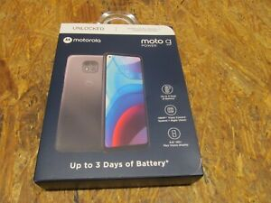 Motorola Moto G Power Unlocked 32GB Phone XT2117-4, Blue ( LOT A16)