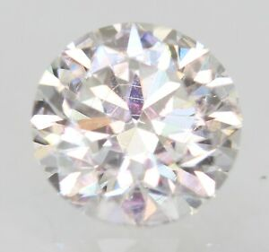 Certificato 0.67 Carati D VVS2 Rotondo Brillante Trattato Diamante Naturale