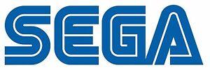 Sega Retro Logo Vinyl Sticker - laptop, wall art, window,