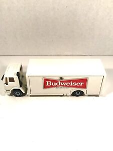 SIKU budweiser COE FORD CARGO DELIVERY TRUCK 1:55 Scale EUROBUILT Diecast Vtg