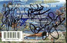 Beach Boys (5) Brian Wilson Authentic Signed Cassette Tape Cover PSA/DNA #Z04997