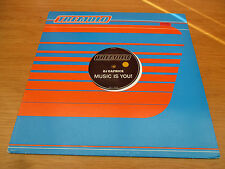 "DJ Caprice  ‎–  Music Is You!  Vinyl 12"" 33  Holland 2000 House Tremolo ‎TRE2023"