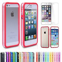 Phone Case Cover Smart Slim Bumper Gel Rubber For Apple iPhone 4 4S 4G 5S 5G 5C
