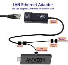 LAN Ethernet connector & USB adapter for Amazon Fire Stick 2nd, New best sellers
