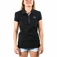 Women's PUMA Golf TransDRY Pique Polo Shirt Black size XS (T2) $55