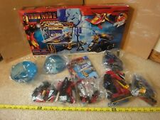Mega Bloks, Construx Iron Man 2, Tony Stark Expo set 1968. Complete, sealed bags