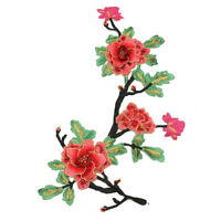 DIY Peony Lace Bouquet Flower Embroidery Cute Iron On Applique Patch Sewing