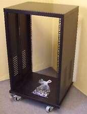ROADINGER Stahlrack SR-19, 18 HE Studiorack Tischrack Verstärkerrack Stahl Rack