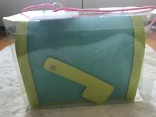 New Decorate Your Own Mailbox, Foam With Decorations, Blue And Green