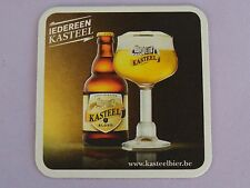 Beer Breweriana Coaster ~ Brouwerij Van Honsebrouck KASTEEL Blond Bier ~ BELGIUM